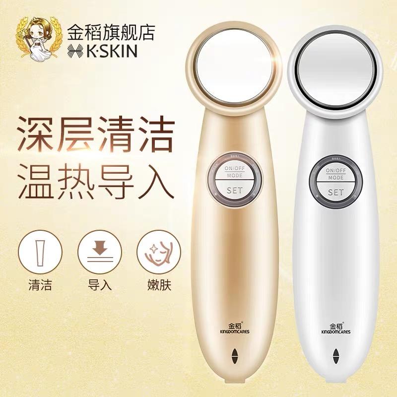 金稻导入仪美容仪器家用脸部嫩肤离子导出面部美肤按摩毛孔清洁器KD9930